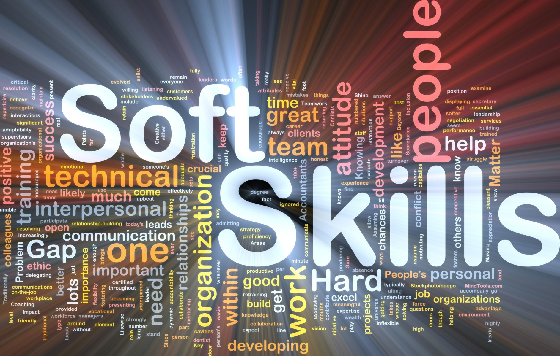 soft skill Definition of soft skill: communicating, conflict management, human relations, making presentations, negotiating, team building, and other such ability, defined in terms of expected outcomes and not as a specific method or.